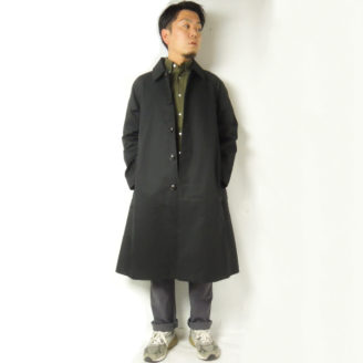 Audience aud7066 ventile ブラック 着用