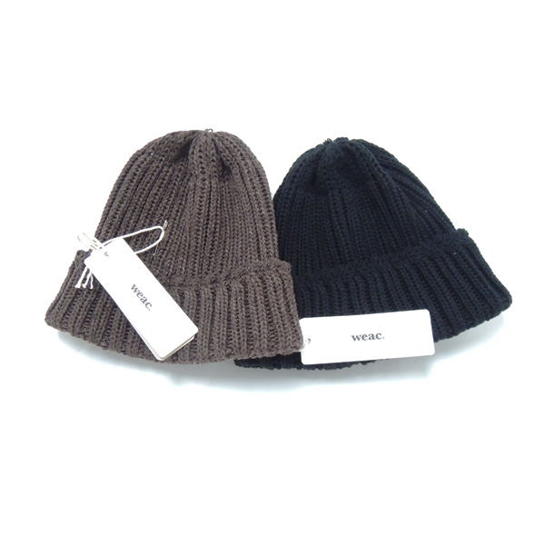weac. RE-SPECKTED KNIT CAP 正面